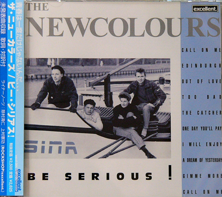 THE NEW COLOURS / BE SERIOUS! [USED CD/JPN] 3150円