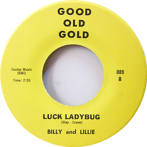 BILLY AND LILLIE / LUCKY LADYBUG [USED ...