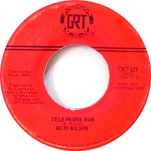 MERI WILSON / TELEPHONE MAN [USED 7inch/US] 735円