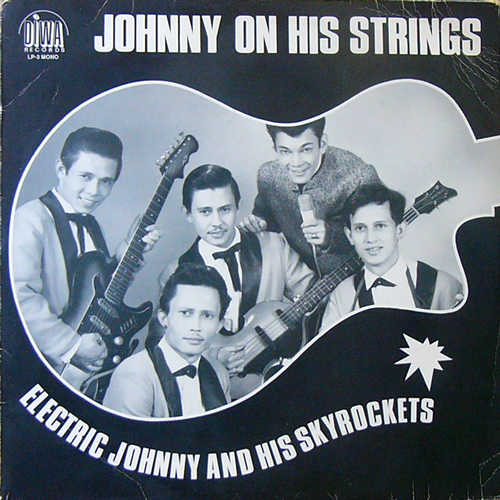 ELECTRIC JOHNNY AND HIS SKYROCKETS / JOHNNY ON HIS STRINGS [USED LP/EU] 2100円