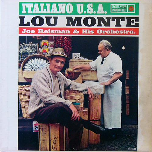 LOU MONTE / ITALLIANO U.S.A. [USED LP/US] 1680円