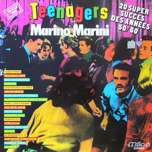 TEENAGERS / MARINO MARINI [USED LP/EU] 1680円