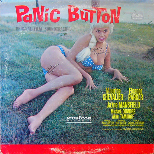 GEORGES GARVARENTZ / PANIC BUTTON O.S.T. [USED LP/US] 2625円