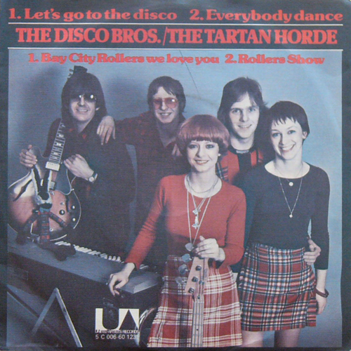 THE DISCO BROS./THE TARTAN HORDE    / LET'S GO TO THE DISCO/BAY CITY ROLLERS WE LOVE YOU [USED 7inch/UK] 2940円