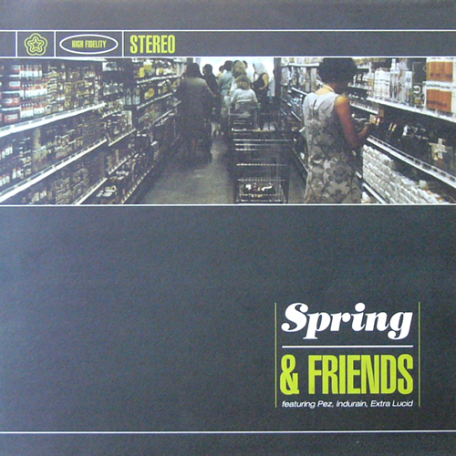 SPRING / & FRIENDS [USED LP/EU] 1050円
