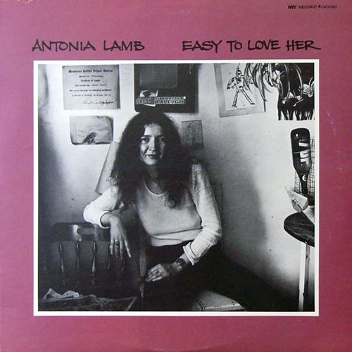 ANTONIA LAMB / EASY TO LOVE HER [USED LP/US] 4675円