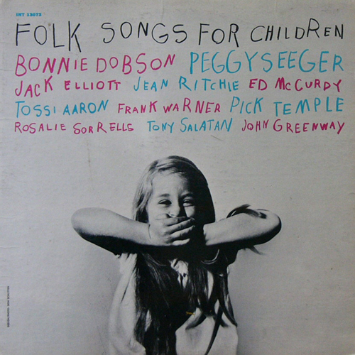 V.A. / FOLK SONGS FOR CHILDREN [USED LP/US] 2100円