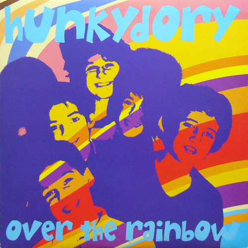 HUNKYDORY / OVER THE RAINBOW [USED LP/EU] 1260円