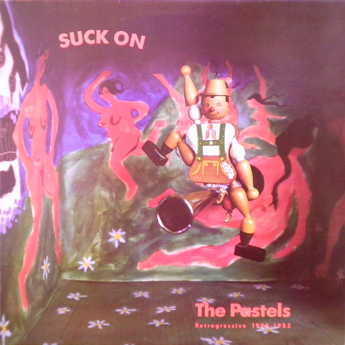 THE PASTELS / SUCK ON [USED LP/UK] 1050円