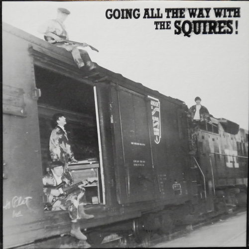 THE SQUIRES / GOING ALL THE WAY WITH... [USED LP/US] 1470円