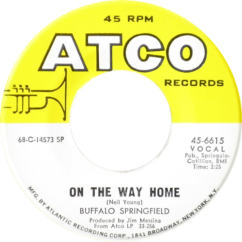 BUFFALO SPRINGFIELD / ON THE WAY HOME [USED 7inch/US] 1470円