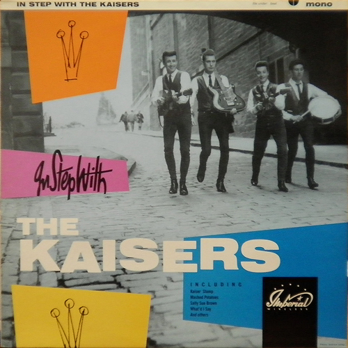 THE KAISERS / IN STEP WITH THE KAISERS [USED LP/UK] 2940円