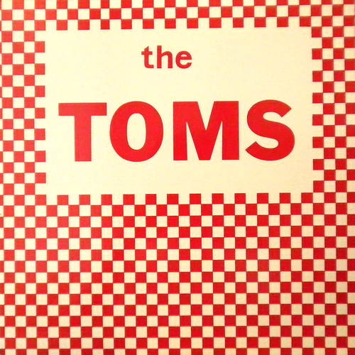 THE TOMS / S.T. [USED LP/US] 1680円
