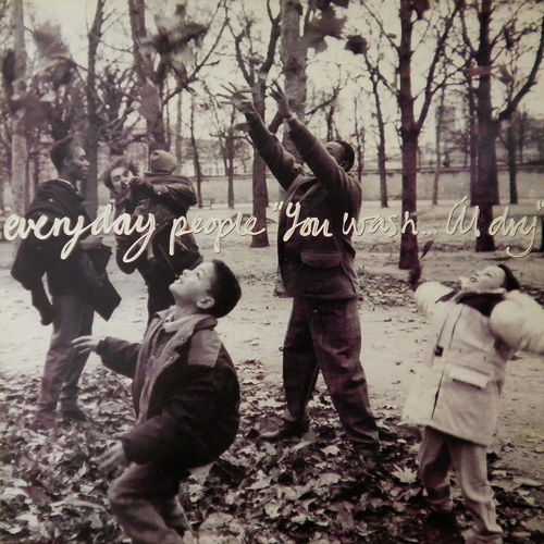 EVERYDAY PEOPLE / YOU WASH...I'LL DAY [USED LP/UK] 735円