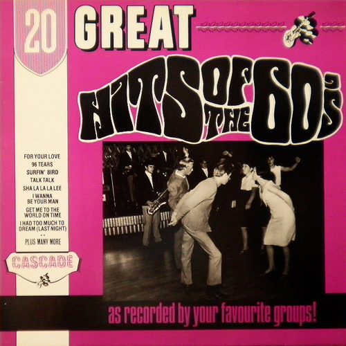 V.A. / 20 GREAT HITS OF THE 60'S [USED LP/UK] 1050円