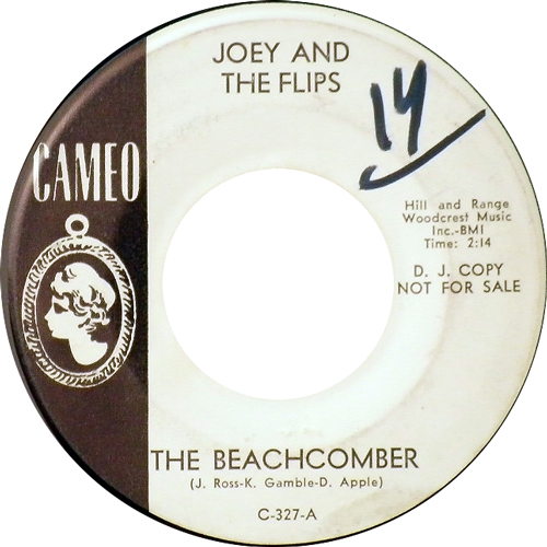 JOEY AND THE FLIPS / THE BEACHCOMBER [USED 7inch/US] 3990円