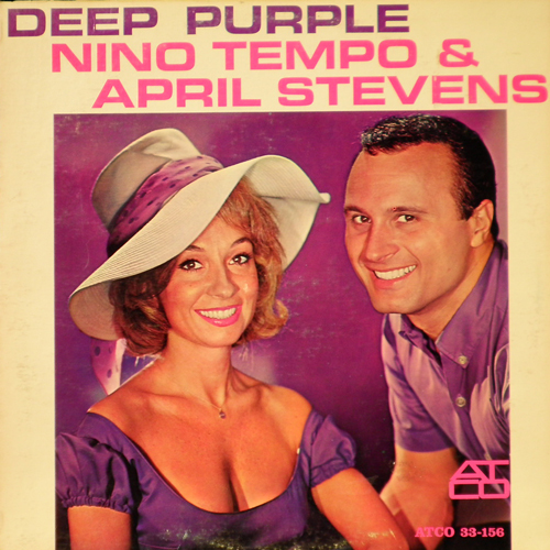 NINO TEMPO & APRIL STEVENS / DEEP PURPLE [USED LP/US] 1890円