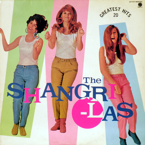 THE SHANGRI-LAS / GREATEST HITS 20 [USED LP/JPN] 1260円