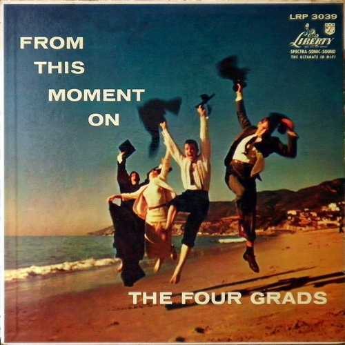 THE FOUR GRADS / FROM THIS MOMENT ON [USED LP/US] 1050円