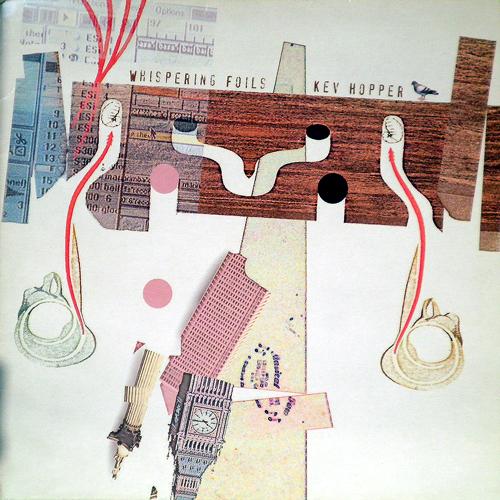 KEV HOPPER / WHISPERING FOILS [USED LP/UK] 1470円