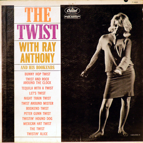 RAY ANTHONY & HIS BOOKENDS / THE TWIST [USED LP/US] 1470円