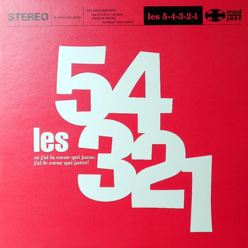 Les 5-4-3-2-1 / S.T. [USED 12inch/JPN]