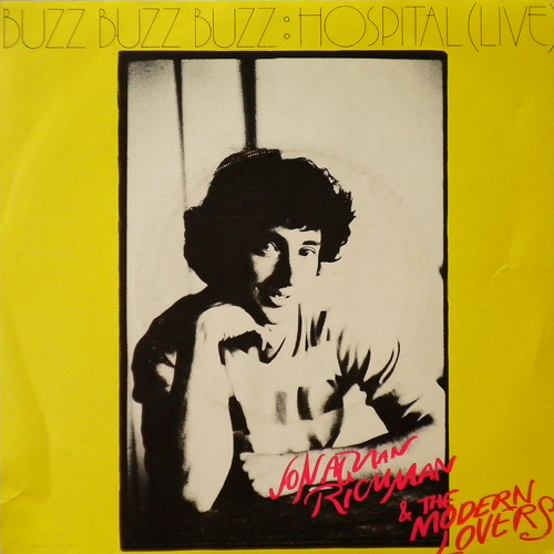 JONATHAN RICHMAN / BUZZ BUZZ BUZZ [USED 7inch/UK] 1260円