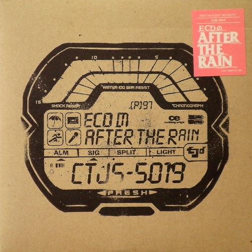 ECD / ECDのAFTER THE RAIN [USED 7inch/JAMICA] 1260円