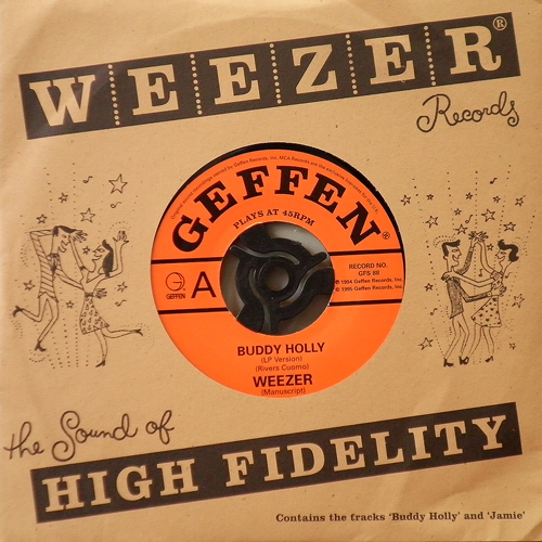 WEEZER / BUDDY HOLLY [USED 7inch/US] 2940円