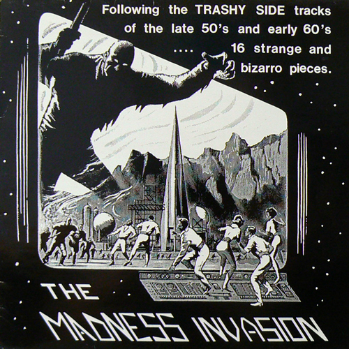V.A. / THE MADNESS INVASION [USED LP/EU] 2625円