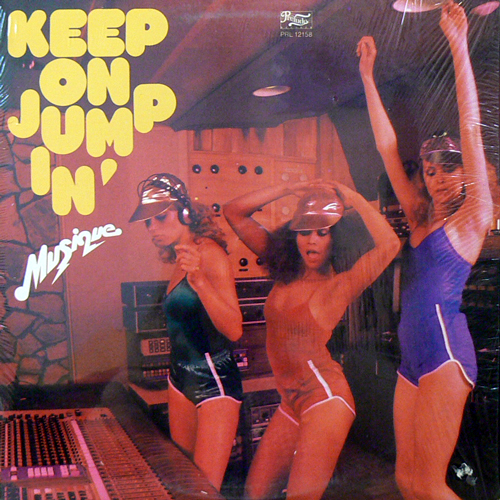 MUSIQUE / KEEP ON JUMPIN' [USED LP/US] 1050円