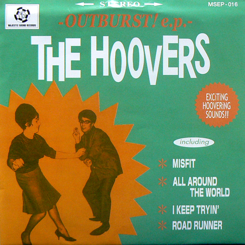 THE HOOVERS / OUTBURST!ep [NEW EP/JPN] 1050円