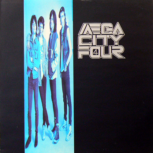 MEGA CITY FOUR / TRANZOPHOBIA [USED LP/UK] 3990円
