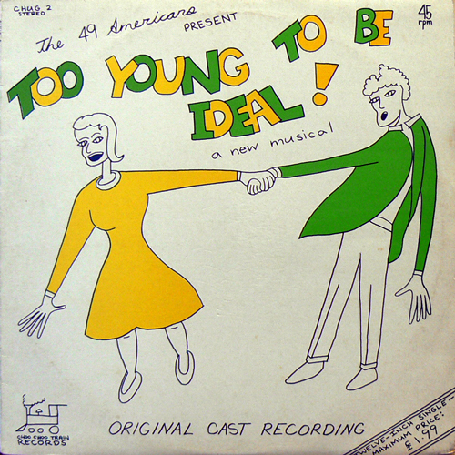 THE 49AMERICANS / TOO YOUNG TO BE IDEAL! [USED LP/UK] 2310円