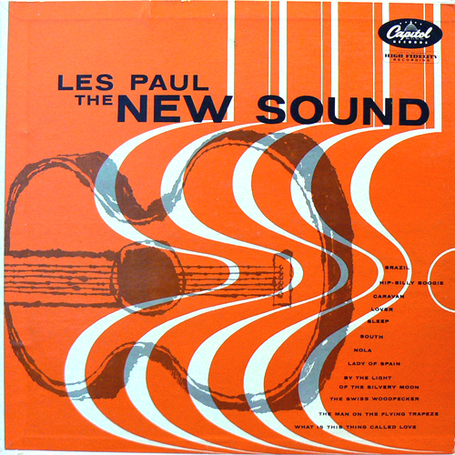 LES PAUL / THE NEW SOUND [USED LP/US] 2625円