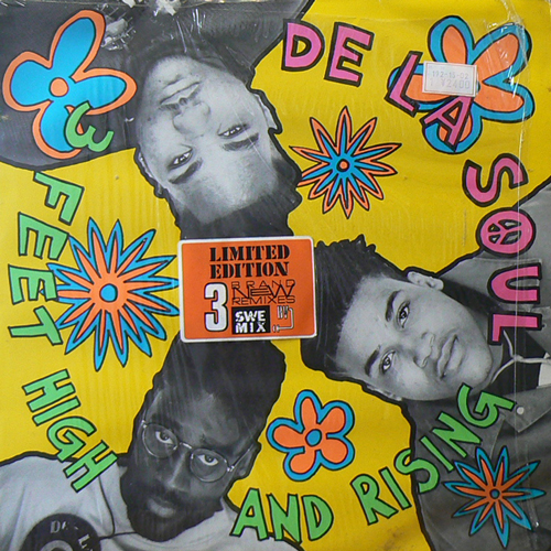 DE LA SOUL / 3 FEET HIGH AND RISING [USED 2LPs/EU] 2520円