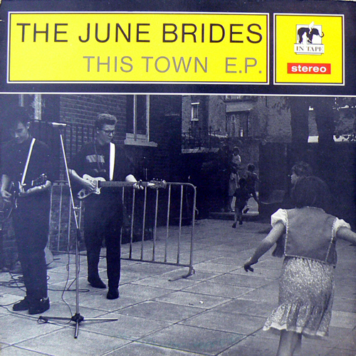 THE JUNE BRIDES / THIS TOWN E.P. [USED 12inch/UK] 1470円