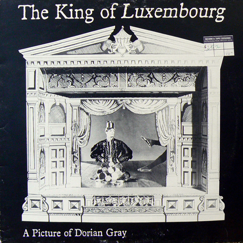 THE KING OF LUXEMBOURG / A PICTURE OF DRIAN GREY [USED 12inch/UK] 1260円