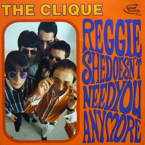 THE CLIQUE / REGGIE [USED 7inch/UK] 735円