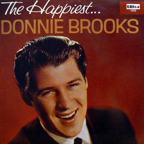 DONNIE BROOKS / THE HAPPIEST... [USED LP/US] 1680円