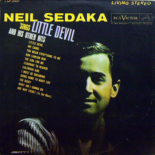 NEIL SEDAKA / SINGS LITTLE DEVIL [USED LP/US] 1050円
