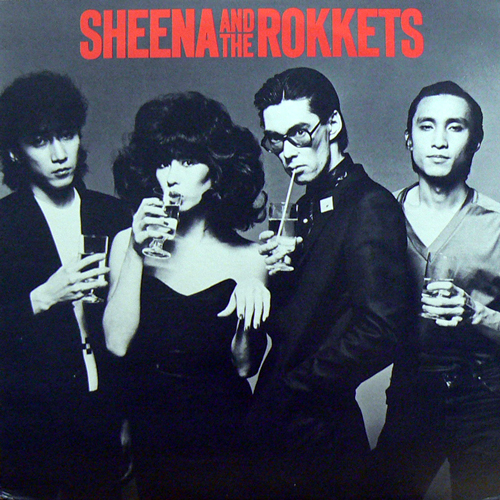 SHEENA AND THE ROKKETS / S.T. [USED LP/US] 2100円
