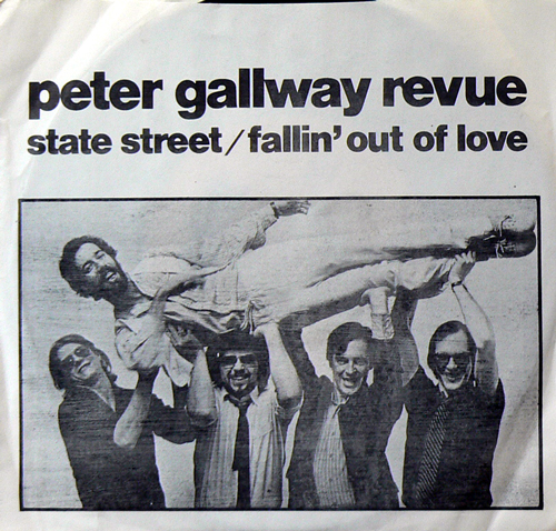 PETER GALLWAY REVUE / STATE STREET [USED 7inch/US] 1260円