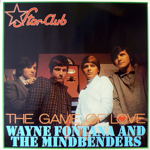WAYNE FONTANA & THE MINDBENDERS / THE GAME OF LOVE [USED LP/EU] 1470円