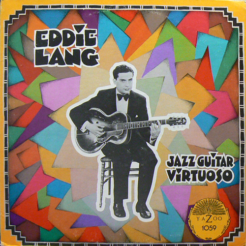 EDDIE LANG / JAZZ GUITAR VIRTUOSO [USED LP/US] 2310円