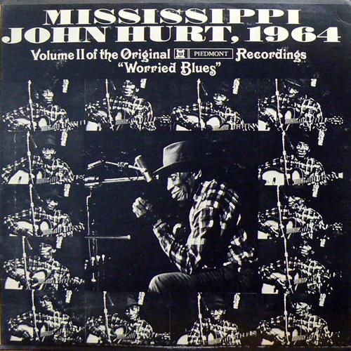 MISSISSIPPI JOHN HURT / WORRIED BLUES [USED LP/US] 1680円