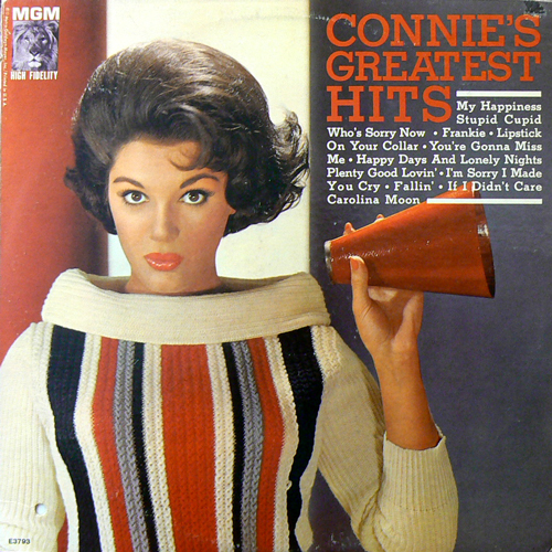 CONNIE FRANCIS / CONNIE'S GREATEST HITS [USED LP/US] 1260円