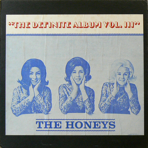 THE HONEYS / THE DEFINITE ALBUM VOL.lll [USED LP/US?] 1680円