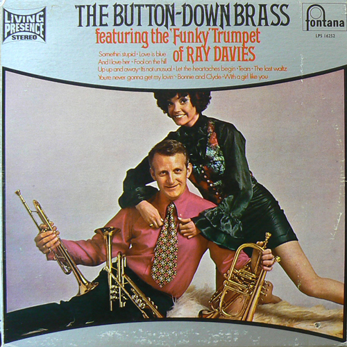 RAY DAVIES / THE BUTTON-DOWN BRASS [USED LP/US] 1470円
