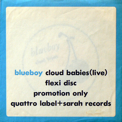 BLUEBOY / CLOUD BABIES(LIVE) [USED FLEXI/JPN] 1470円
